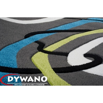Dywan Sumatra 3465A ANTHRACITE